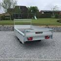 Remorque non freiné plateau alu  Double Essieux 750KG - 260/150