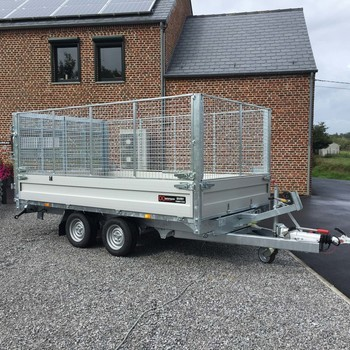Twin Trailer 35 - 35 Rehausses grillages
