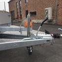 Remorque freiné EDUARD plateau alu 606/200
