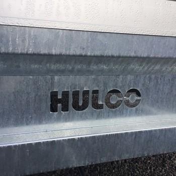 Remorque freiné HULCO Medax plateau alu 611/223