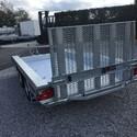 HULCO Remorque Porte-Engin TERRAX - 294/150