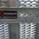 HULCO remorque  Porte-engin Terrax 3essieux - 394/180