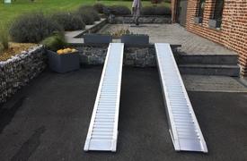 Rampes Alu 3300kg - 2.5m