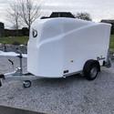 DEBON Remorque Fourgon Cargo 1300 avec porte latérale