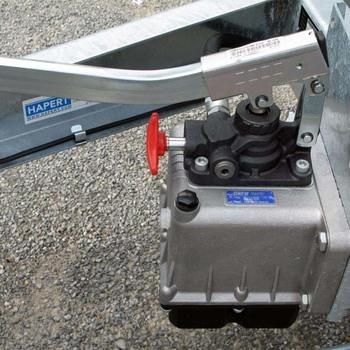 HAPERT Remorque Benne COBALT HB2 - 305/160