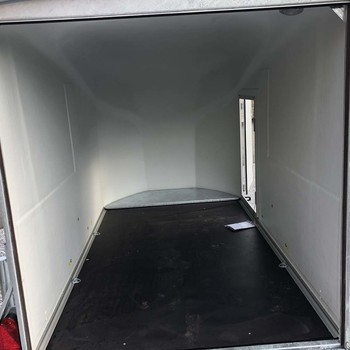 DEBON Remorque polyester Cargo 1300 Blanc - 300/150/165