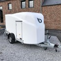 Remorque Debon Cargo polyester avec porte latérale