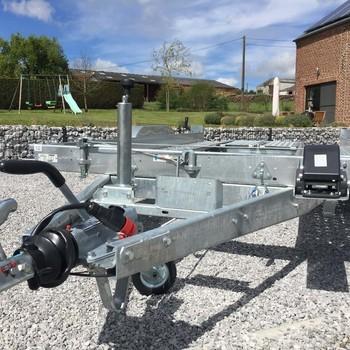 LIDER Remorque Porte-Voiture - 394/190 2500kg