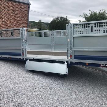 BRIAN JAMES Remorque Cargo Connect = >5m