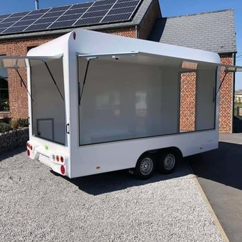 BW Remorque Magasin Food Truck 420/200