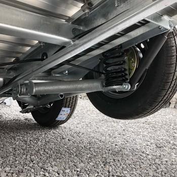 DEBON Remorque Fourgon Roadster 500 XL - 365/164/200