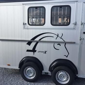 CHEVAL LIBERTE Remorque Van OPTIMAX pour 4 chevaux