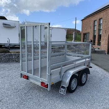 Remorque Alu Double essieux 258/130
