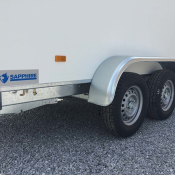 HAPERT Remorque Fourgon Sapphire double essieux