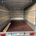 EDUARD Remorque Porte-voiture - 400/200 avec bâche coulissante