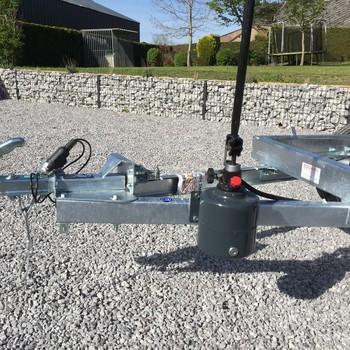 EDUARD Remorque non freiné Benne 750KG - 260/150