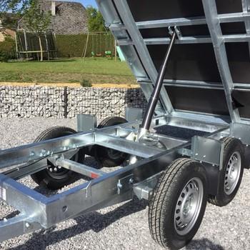 EDUARD Remorque Benne 750KG non freiné - 260/150