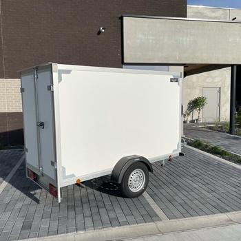 KERENZO Remorque Fourgon 750KG non freiné Simple Essieu