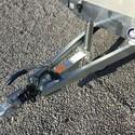 Remorque Freiné HAPERT Plateau alu Double essieux