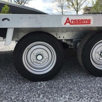 ANSSEMS Remorque porte-voiture MSX 3000KG