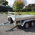 Remorque Bois Double essieux 225/130