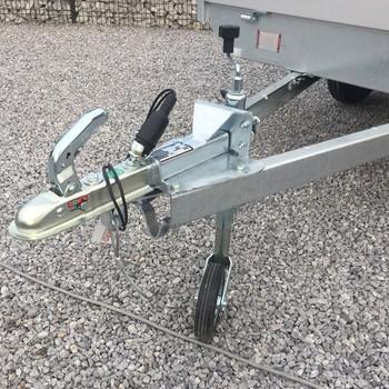 Remorque non freiné EDUARD plateau alu Simple Essieu 750KG - 260/150